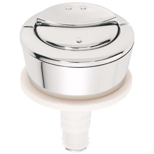 Wirquin Dual Flush Chrome Push Button (For White, Green or Blue Cable Generation)