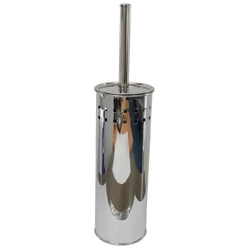 Toilet Brush & Holder Stainless Steel