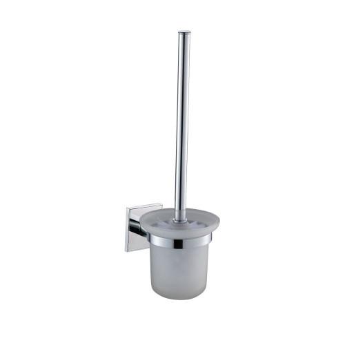 Saturn Chrome Toilet Brush & Holder