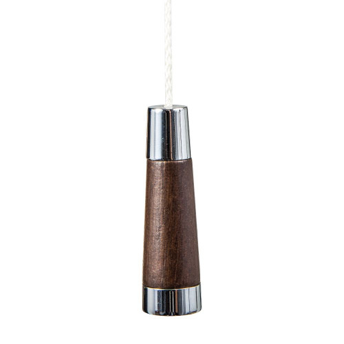 Miller Light Pull Chrome/Oak Conical