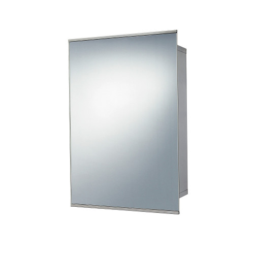 Stainless Steel Sliding Mirror Cabinet 340mm x 500mm x 160mm
