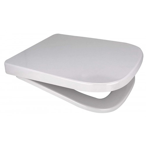 V20 ONE Anti-Bacterial Soft Close Quick Release Toilet Seat - White