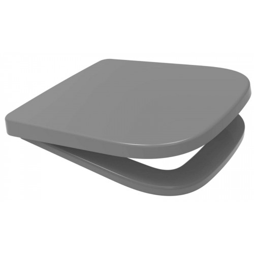 V20 ONE Anti-Bacterial Soft Close Quick Release Toilet Seat - Grey