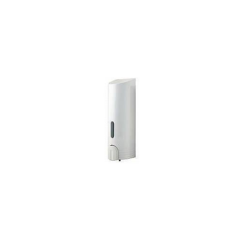 Tall Single Soap Dispenser - White