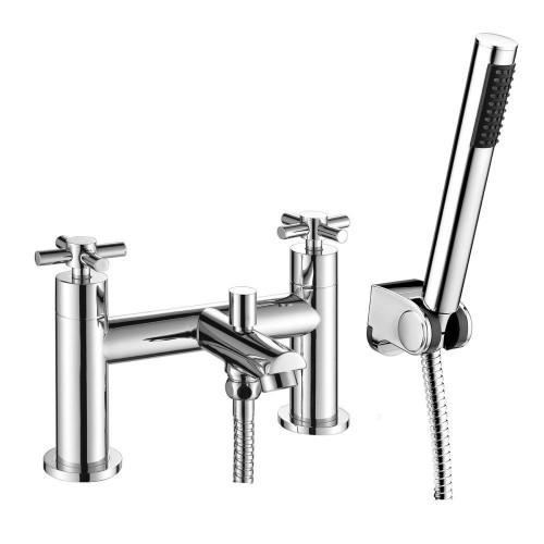 Acel Chrome Bath Shower Mixer & Shower Kit