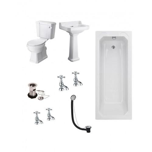 Ascott Traditional Bathroom Suite