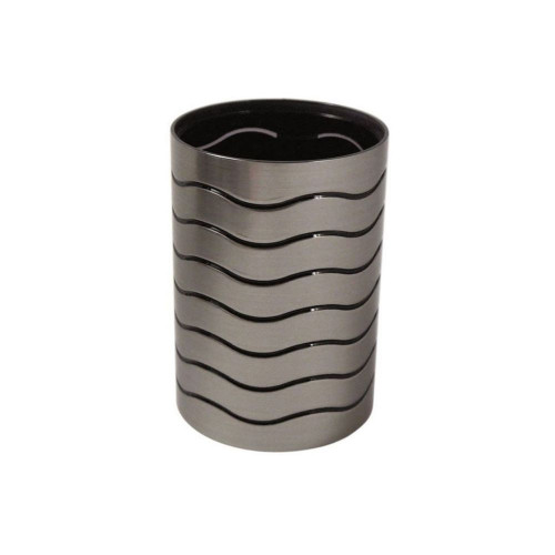 Ice Collection Tumbler - Silver & Black