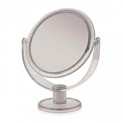Clear Plastic Medium Round Mirror