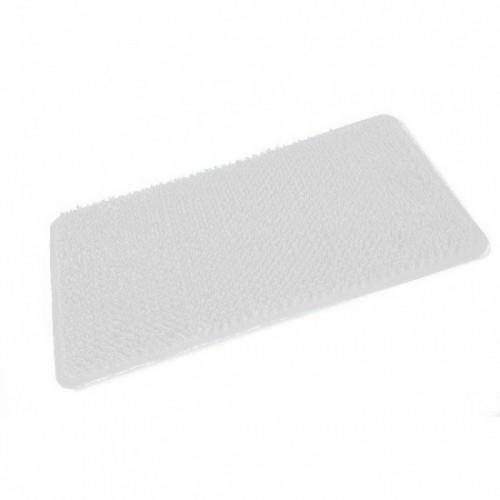 Comfort PVC Bath Mat - White 650mm x 370mm