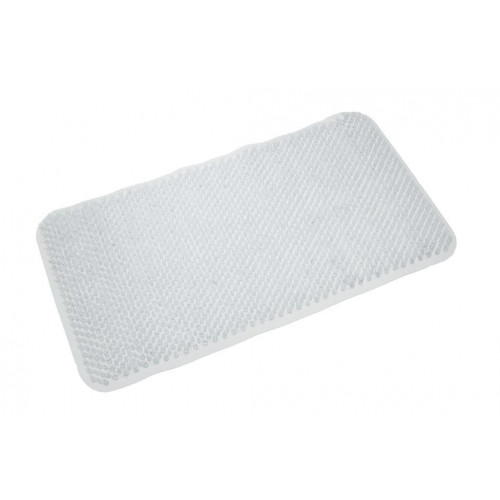 Comfort PVC Bath Mat - Clear 650mm x 370mm