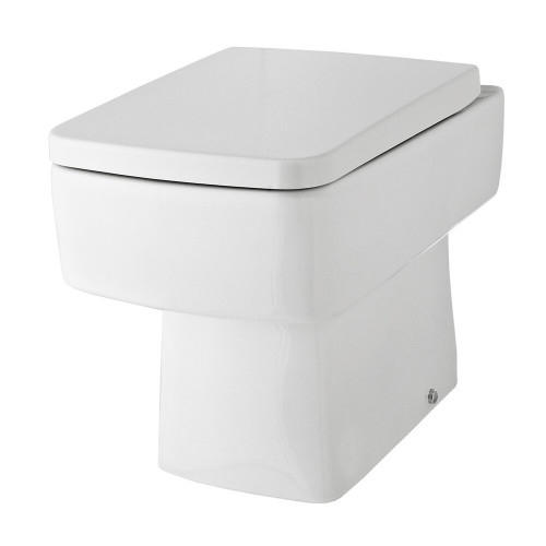 Bliss Back to Wall Pan & Soft Close Seat