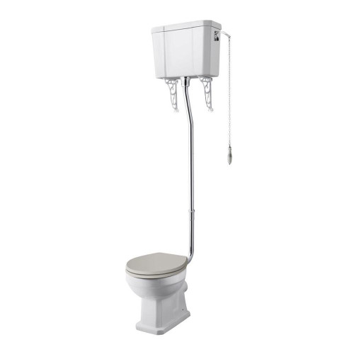 Old London Richmond High Level WC Pan, Cistern & Flush Pipe Kit