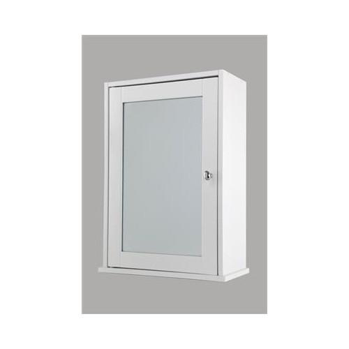 Viola White Mirror Cabinet 360mm x 500mm x 170mm