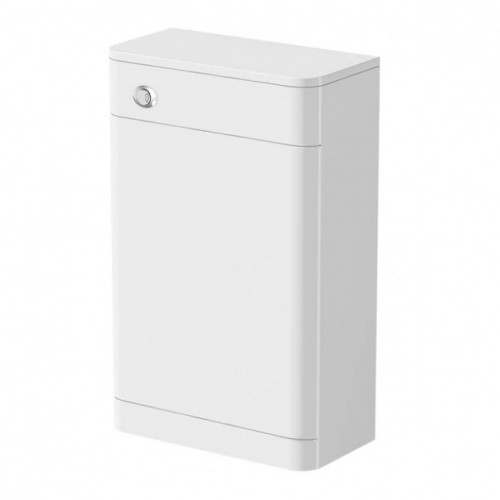 Crystal 500mm White Gloss WC Unit