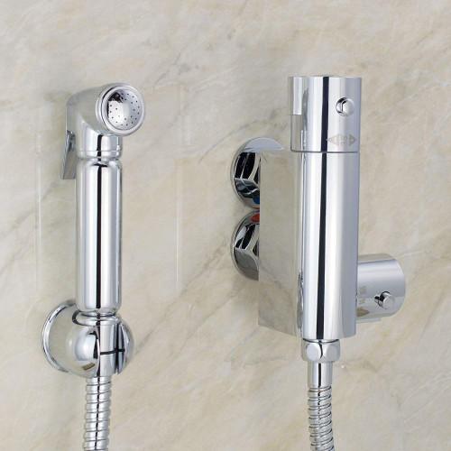 Douche Shower Spray Kit & Mini Thermostatic Valve