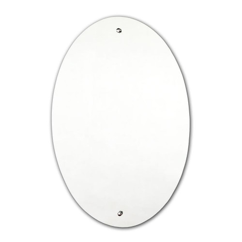 SureFix Pre-Drilled Oval Mirror - 400mm x 600mm