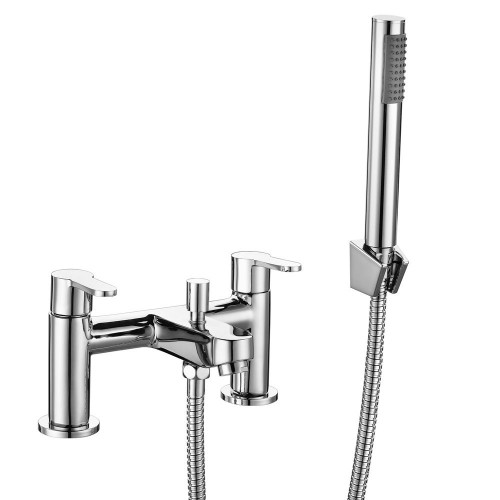Essence Chrome Bath Shower Mixer & Shower Kit