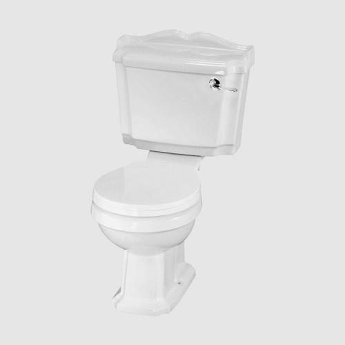 Legend Close Coupled Toilet & Deluxe Soft Close Seat