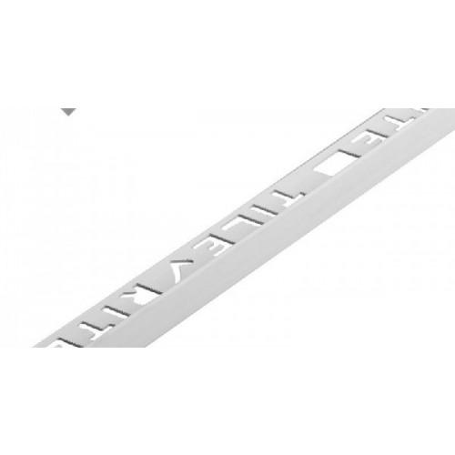 12mm L-Shape Pro Tile Trim White - PVC