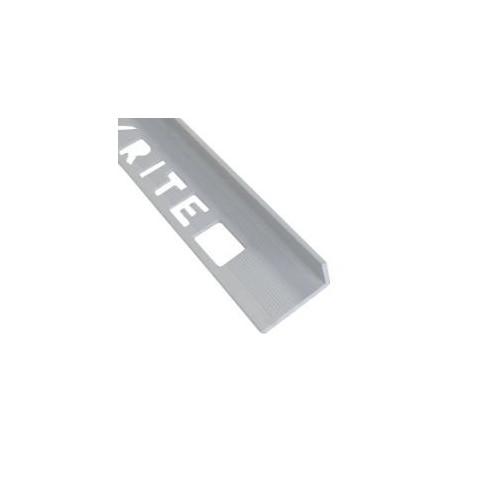 12mm L-Shape Pro Tile Trim Grey - PVC