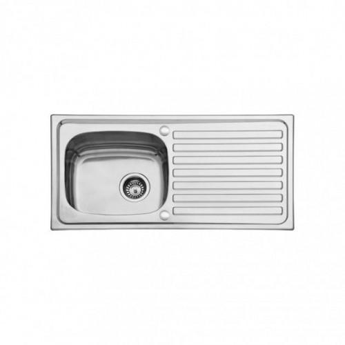 Scott & James 940mm Inset Reversible Stainless Steel Sink - Single Drainer