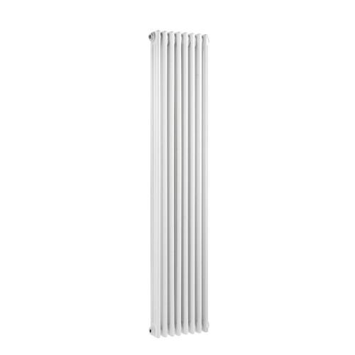 Traditional Triple Column White 8 Panel Radiator 380mm x 1500mm