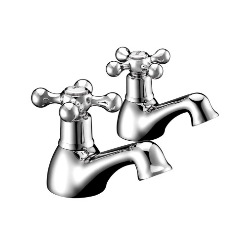 Hynar Chrome Basin Taps