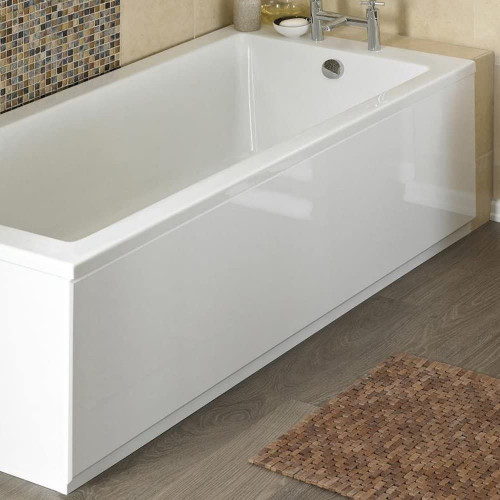 ICE 1700mm White Gloss 2 Piece Bath Front Panel