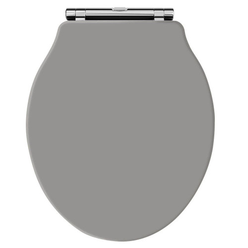 Old London Storm Grey Chancery Toilet Seat