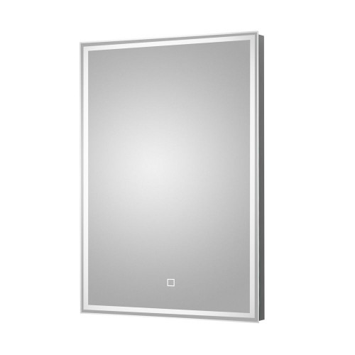 Lyra LED Illuminated Bathroom Mirror 500mm x 700mm