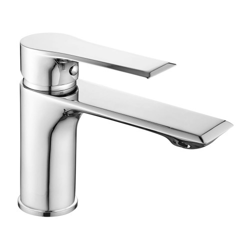 Lucerne Chrome Basin Mono Mixer & Slotted Sprung Basin Waste