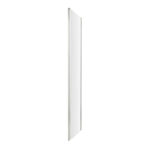 Hudson Reed Apex Chrome 760mm Shower Side Panel