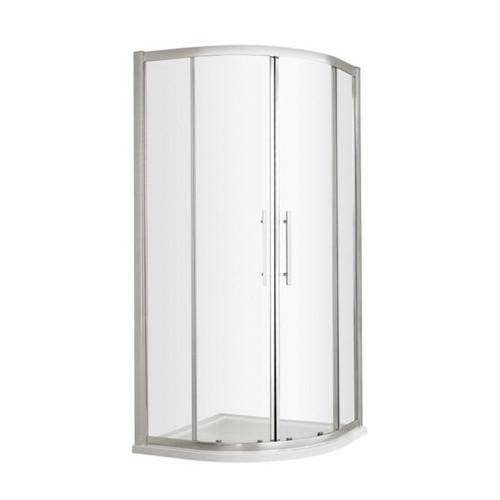 Hudson Reed Apex Chrome 900mm Quadrant Shower Enclosure - Enclosure Only