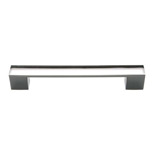 Chrome Rectangular Furniture Handle (160mm Centres)