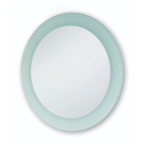 Round Frosted Wall Mirror 400mm