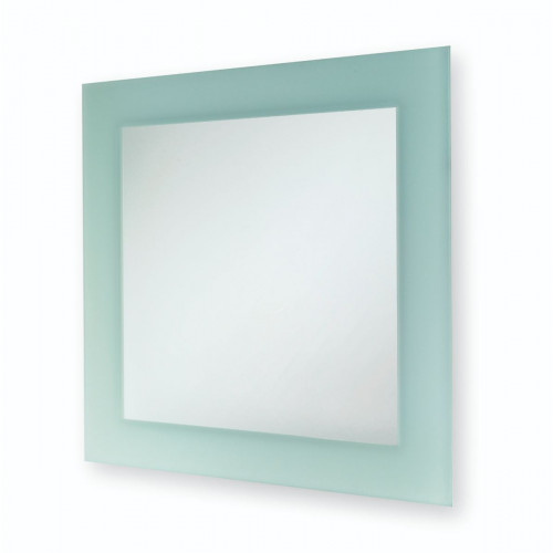 Square Frosted Wall Mirror 400mm x 400mm