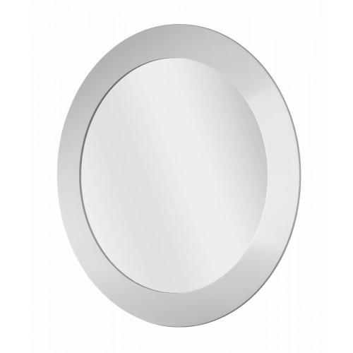 Round Mirror White White 400mm