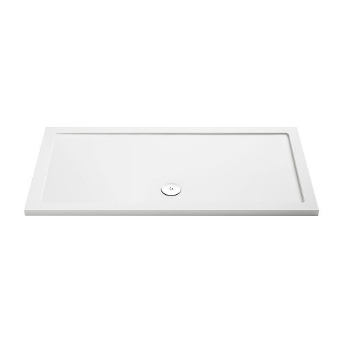 MX Low Profile 1600mm x 760mm Rectangular Shower Tray & Waste