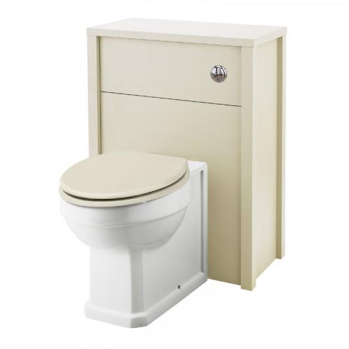Rockingham Ivory 600mm WC Unit