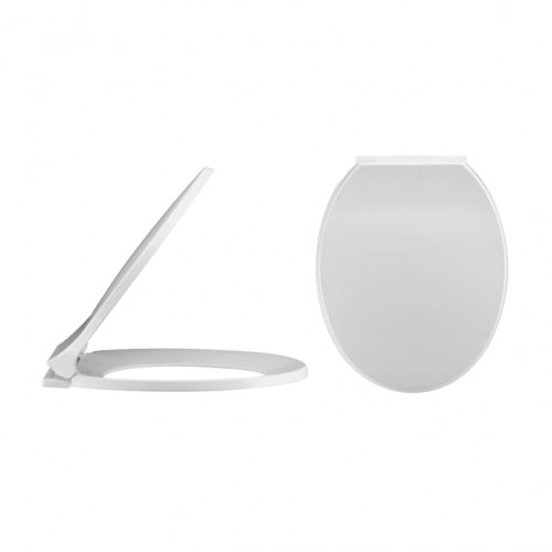 Standard Round Soft Close Toilet Seat - Bottom Fix