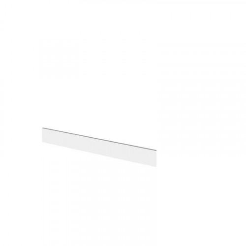 Hudson Reed Fusion Gloss White 1250mm Continuous Plinth