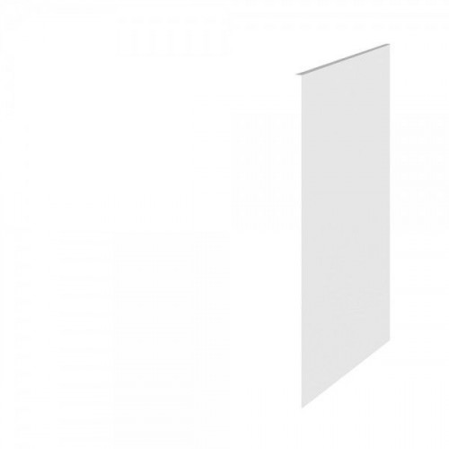 Hudson Reed Fusion White Gloss 370mm x 890mm Decorative Infill Panel/Rep End