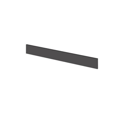 Hudson Reed Fusion Gloss Grey 1250mm Continuous Plinth