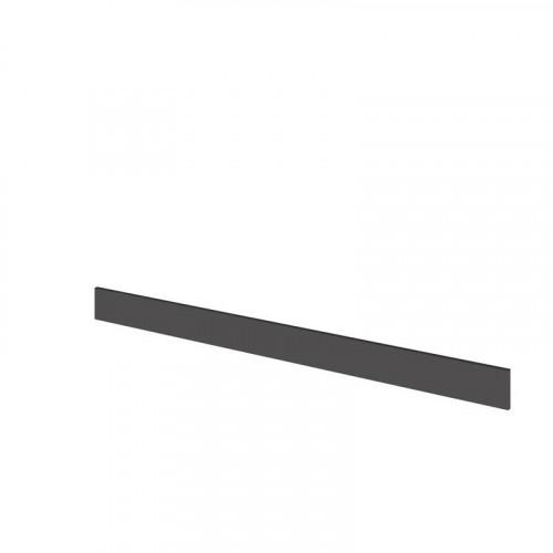 Hudson Reed Fusion Grey Gloss 2000mm Continuous Plinth