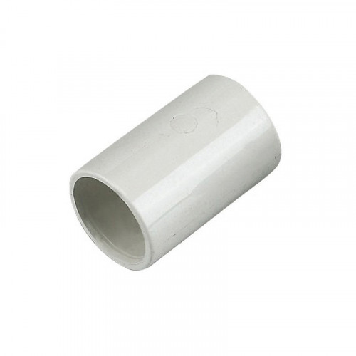 Overflow Straight Coupling White 21.5mm
