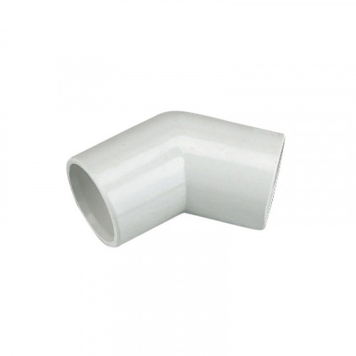 Overflow Bend 135° White 21.5mm