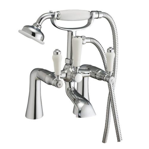 Otra Chrome Bath Shower Mixer & Shower Kit
