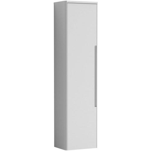 Elbe 356x1392mm Satin White Tall Wall Hung Unit