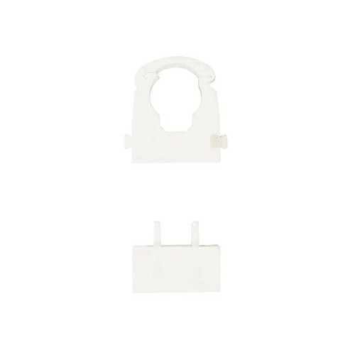 Speedfit Pipe Clip White 15mm (Pack of 50)