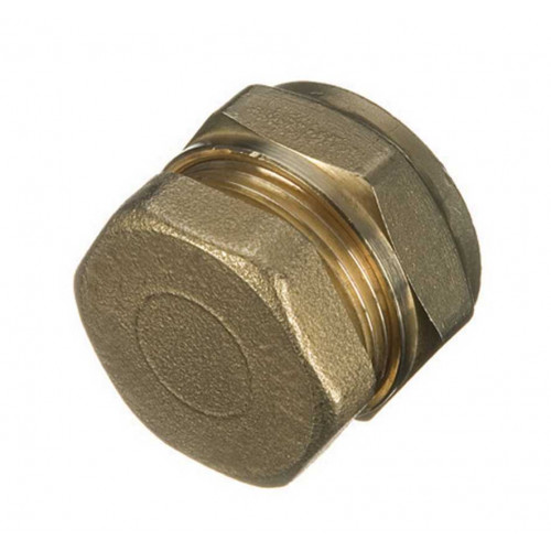 Brass Compression Stop End 15mm